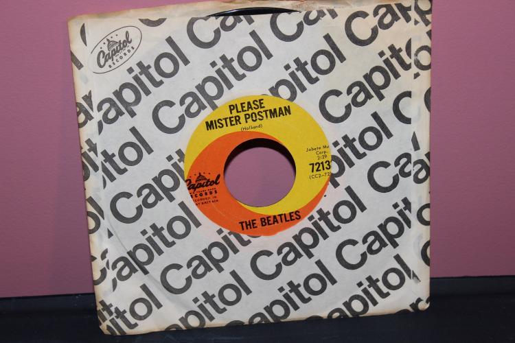 BEATLES – PLEASE MR. POSTMAN – CAPITAL 72133 NEAR MINT