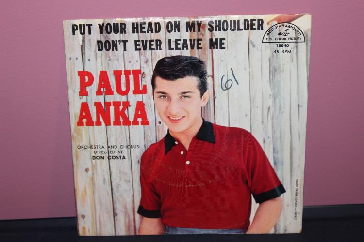 PAUL ANKAS ABC PARAMOUNT 10040 NEAR MINT COND.