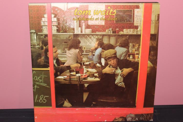 TOM WAITS NIGHTHAWKS AT THE DINER 1975 ASYLUM RECORDS DOUBLE L.P. ALBUM NEAR MINT GATE FOLD
