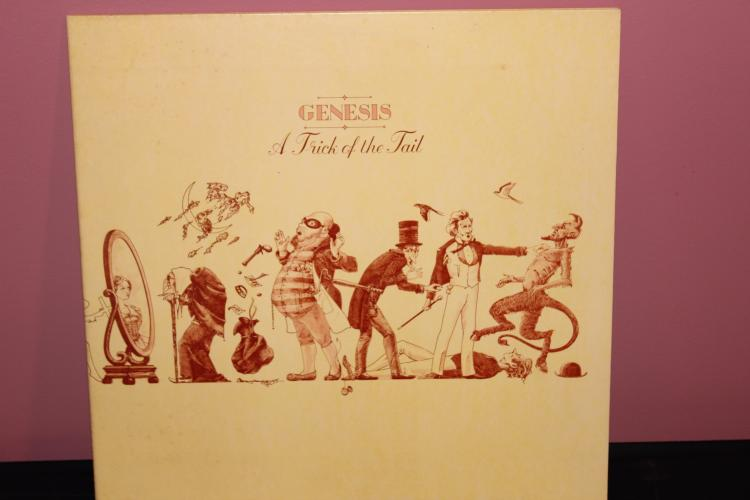 GENESIS – A TRICK OF THE TAIL – ATCO RECORDS 1976 NEAR MINT