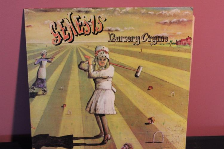 GENESIS 1972 BUDDAH RECORDS NURSERY CRYME – THE FAMOUS CHARISMA LABEL NEAR MINT
