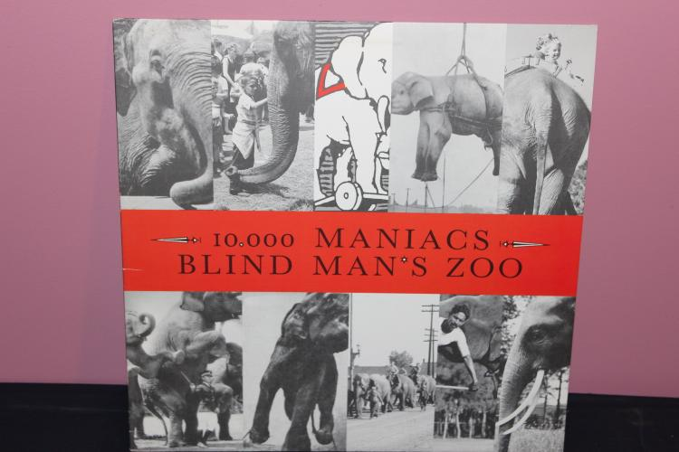10,000 MANIACS BLIND MANS ZOO 1989 ELEKTRA – ASYLUM RECORDS NEAR MINT