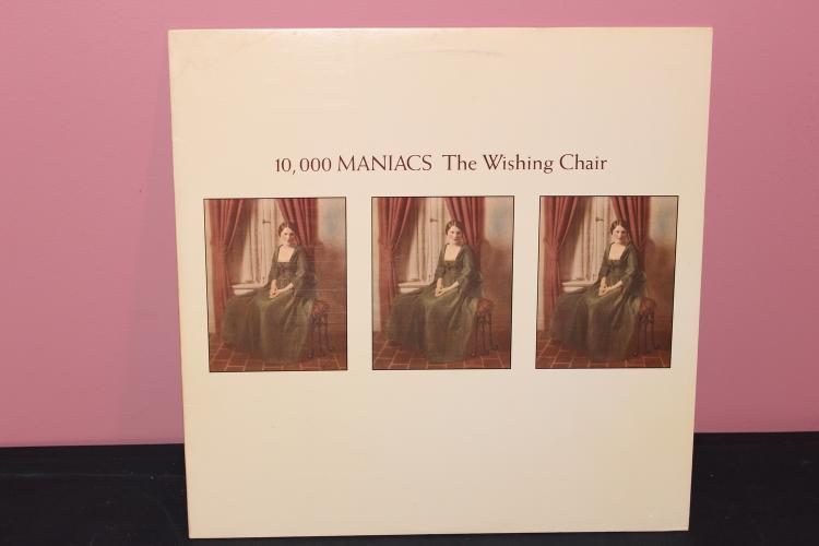 10,000 MANIACS THE WISHING CHAIR 1985 ASYLUM RECORDS 604281 NEAR MINT