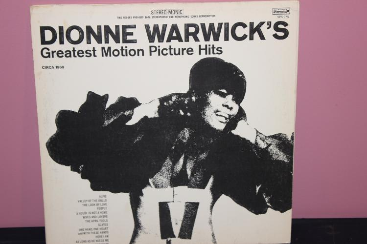 DIONNE WARWICK'S MOVIE HITS 1969 SCEPTER RECORDS NEAR MINT
