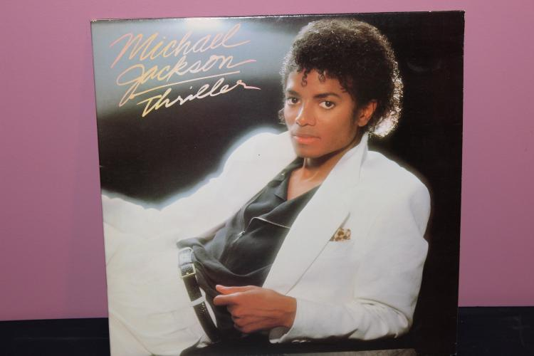 MICHEAL JACKSON – THRILLER 1982 EPIC RECORDS BL 38112 GATEFOLD COVER LIKE NEW