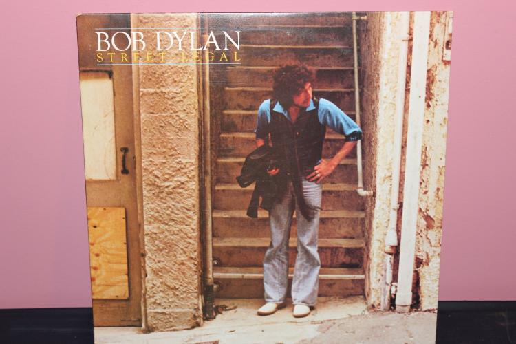 DYLAN – STREET LEGAL NOT FOR SALE PROMOTION ONLY 1978 COLUMBIA CBS AL 35453 NEAR MINT