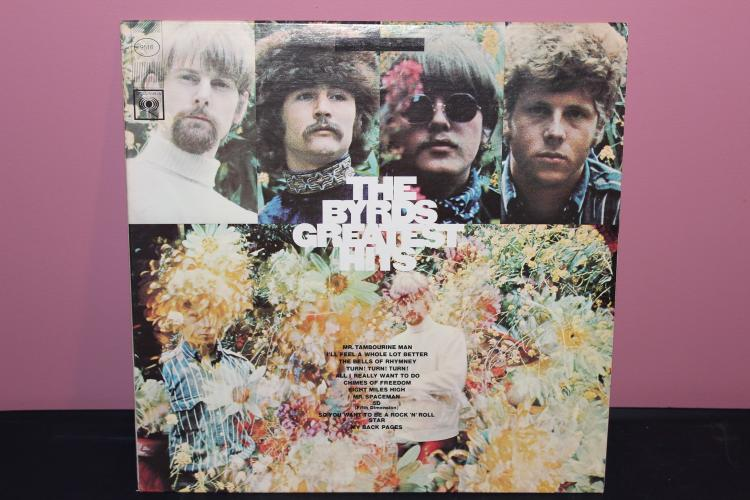 THE BYRDS GREATEST HITS COLUMBIA XMS 118740 NEAR MINT