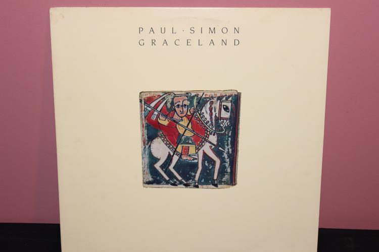 PAUL SIMON GRACELAND 1986 WARNER BROS. RECORDS 1-25447 LYRICS ON SLEEVE NEAR MINT