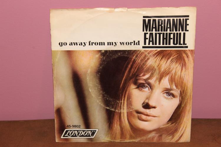 MARIANNE FAITHFULL LONDON RECORDS 459802 VERY GOOD COND.