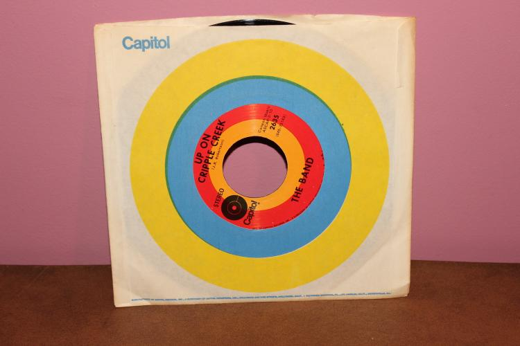 THE BAND – CANAAN MUSIC CAPITAL 2635 LIKE NEW