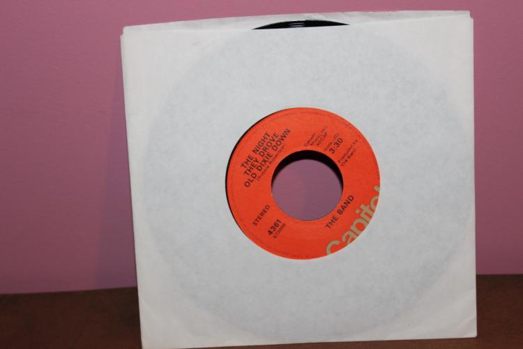 THE BAND – GEORGIA ON MY MIND 1976 CAPITAL RECORDS CANAAN MUSIC NEAR MINT