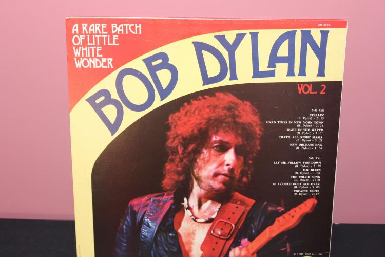 BOB DYLAN A RARE BATCH VOL.2 1981 - MADE IN ITALY - SM3728 - JOKER RECORDS