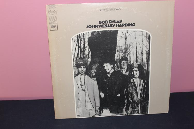 DYLAN - JOHN WESLEY HARDING 1968 LIKE NEW - COLUMBIA CS9604