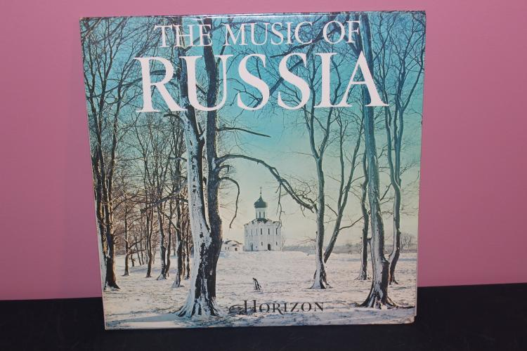 MUSIC OF RUSSIA LP - RECORDED IN RUSSIA MELODIYA 1970 - LIKE NEW DOUBLE GATEFOLD