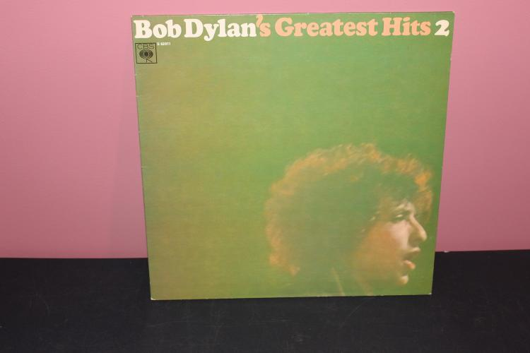 DYLAN GREATEST HITS VOL. 2 1967 - MADE IN HOLLAND CBS S62911