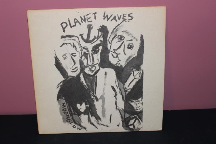 1974 DYLAN PLANET WAVES ASYLUM RECORDS 7E1003-A LIKE NEW