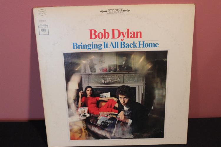 DYLAN BRINGING IT ALL BACK HOME - COLUMBIA CS9128 - NEAR MINT 1965