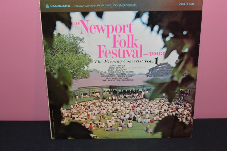 NEWPORT FOLK FESTIVAL - RECORDED LIVE 1963 VANGUARD RECORDS VRS9148