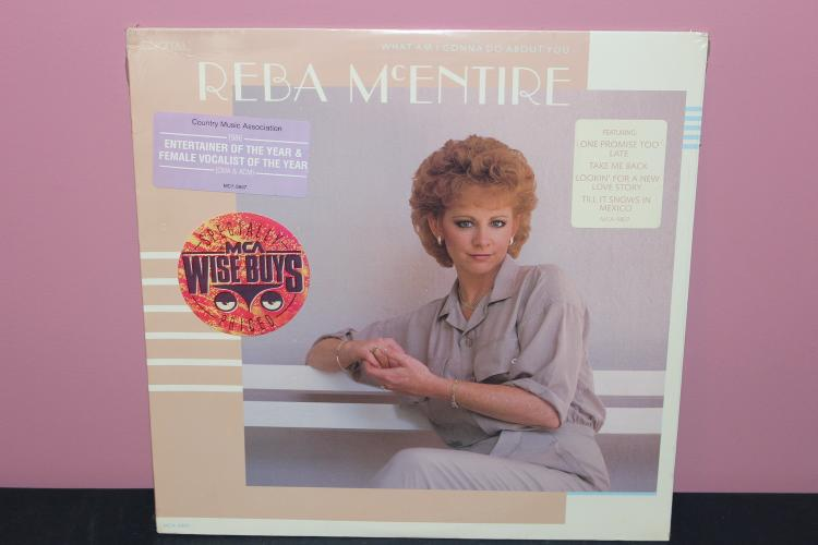 REBA MCENTIRE UNOPENED FACTORY SEALED 1986 M-G5807 - NICE FIND