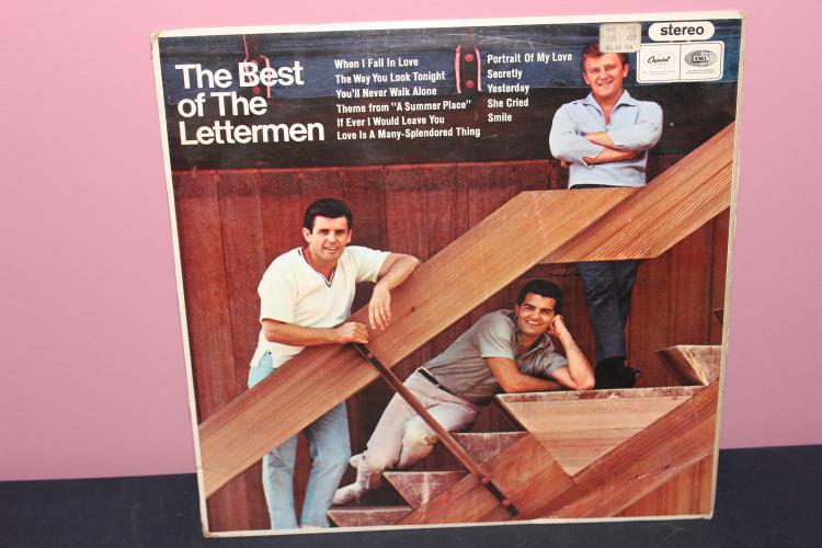 LETTERMEN'S BEST 1966 CAPITAL RECORDS - VERY GOOD COND
