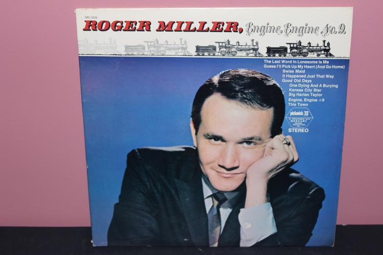 ROGER MILLER RARE - ALL SONGS WRITTEN BY ROGER MILLER - PICKWICK RECORDS SPC-3226-B - LIKE NEW