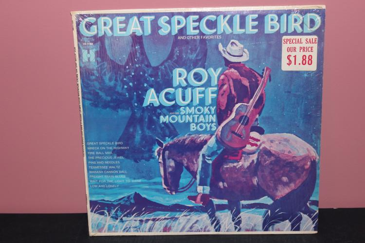 ROY ACUFF L.P. HARMONY RECORDS XSM137352 - NEAR MINT