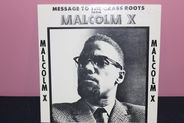 MALCOLM X CHARISMA RECORDS 1970 - RECORDINGS IN PART FROM 1963 - EXC. COND