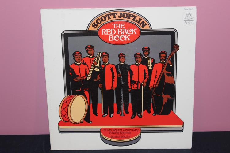 SCOTT JOPLIN THE RED BACK DOOR - ANGEL RECORDS CAPITAL 1973 LIKE NEW