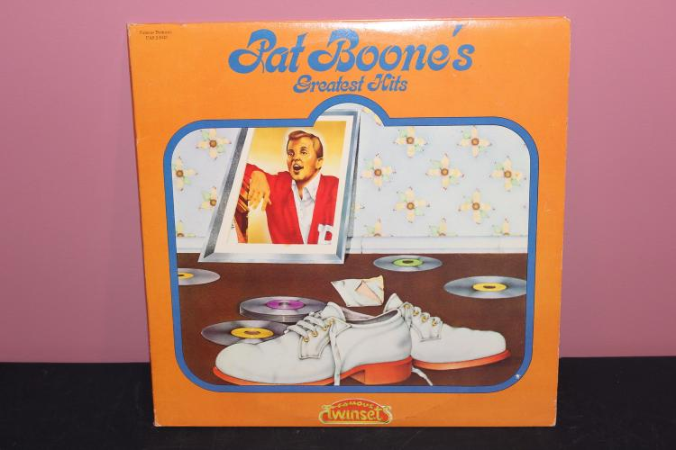 1974 BOONES GREATEST HITS TWIN SET 2 L.P. RECORD SET - EXC. COND