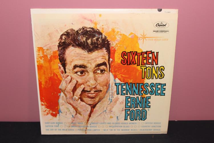 SIXTEEN TONS - CAPITAL RECORDS T1380 - 1960 NEAR MINT