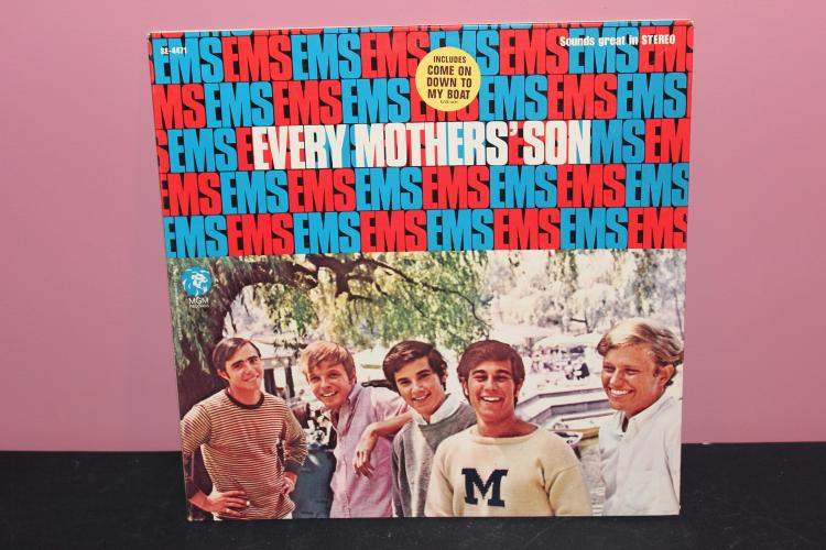 EVERY MOTHERS SON - MGM RECORDS - LIKE NEW 4471