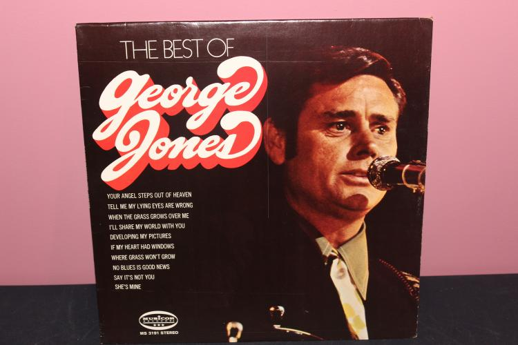 THE BEST OF GEORGE JONES MUSICOR RECORDS MS3191 - LIKE NEW