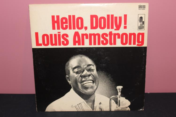 LOUIS ARMSTRONG KAPP RECORDS 3364 - LIKE NEW