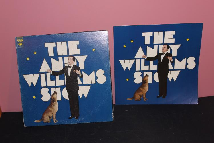 THE ANDY WILLIAMS SHOW GATEFOLD - COLUMBIA RECORDS KS30105 - LIKE NEW W/ BOOKLET