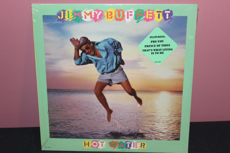 JIMMY BUFFET - NEW UNOPENED 1988 MCA W/ SEVERAL GUESTS
