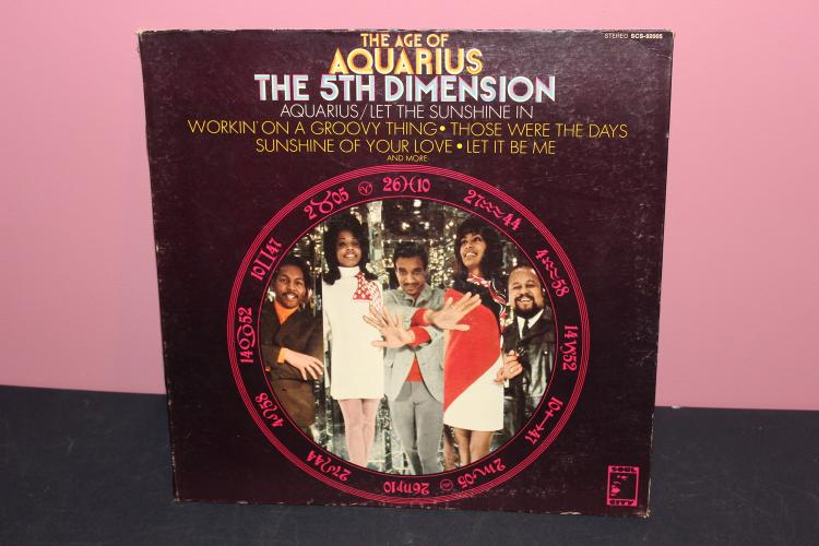 5TH DIMENSION AQUARIOUS SOUL CITY SCS92005 - VERY GOOD COND GATEFOLD