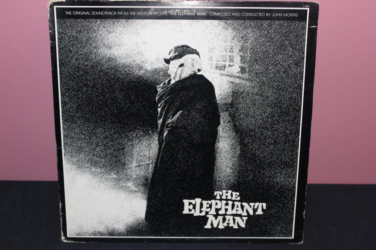 ELEPHANT MAN MOVIE SOUNDTRACK 1977 20TH CENTURY FOX - LIKE NEW