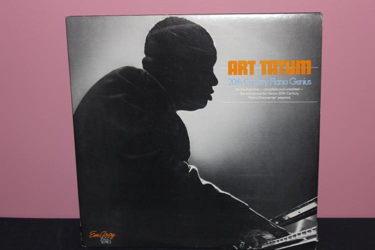 ART TATUM 20TH CENTURY PIANO GENIUS GATEFOLD - THE EMARCY JAZZ SERIES - DOUBLE LP RECORDS LIKE MINT