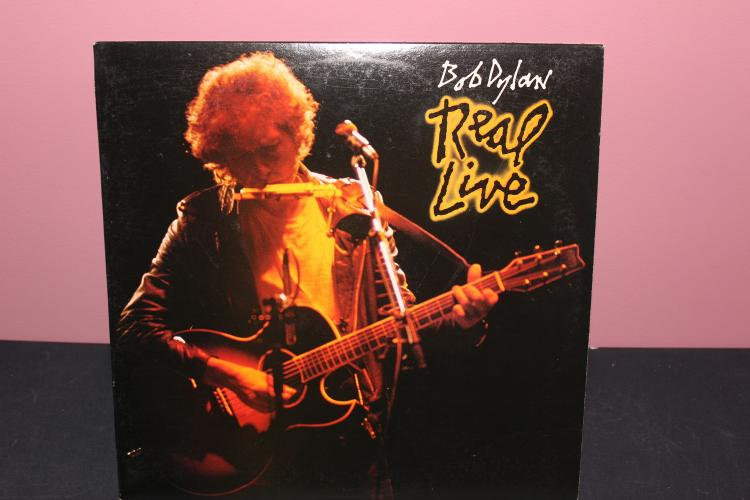 DYLAN - REAL LIVE 1984 COLUMBIA W/ CARLOS SANTANA