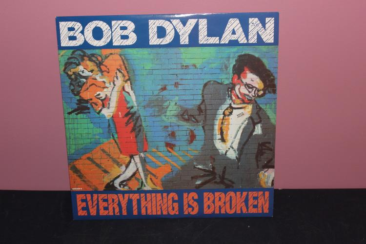 DYLAN - EVERYTHING IS BROKEN - 1989 CBS RECORDS