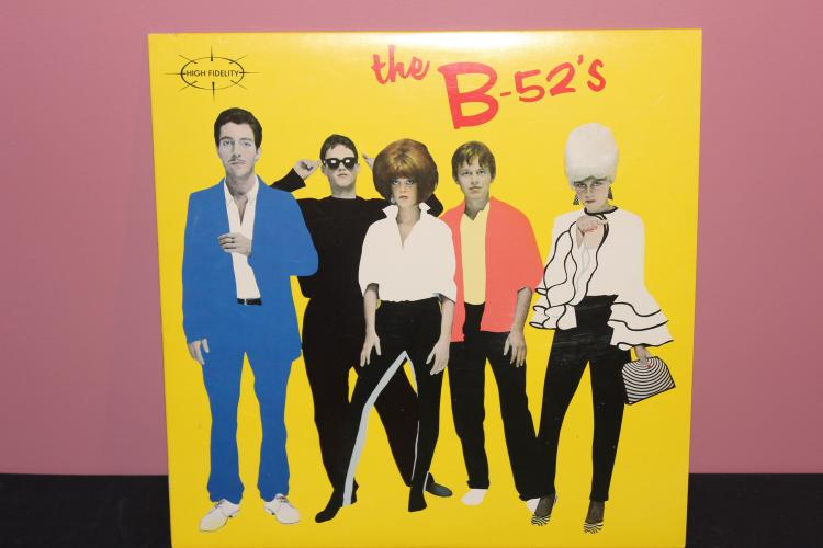 B-52'S 1979 ISLAND RECORDS PRESSING WARNER BROS. - NEAR MINT