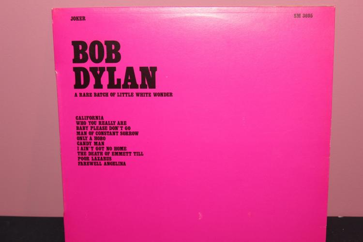 DYLAN JOKER RECORDS 1973 MADE IN ITALY - LIKE NEW
