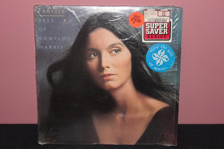 BEST OF EMMYLOU HARRIS 1978 - WARNER BROS. ORIG. STORE WRAPPER - LIKE NEW