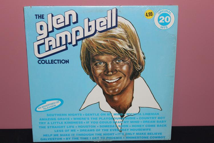 GLEN CAMPBELL COLLECTION - ORIG STORE WRAPPER - CAPITAL RECORDS - 1978 LIKE NEW