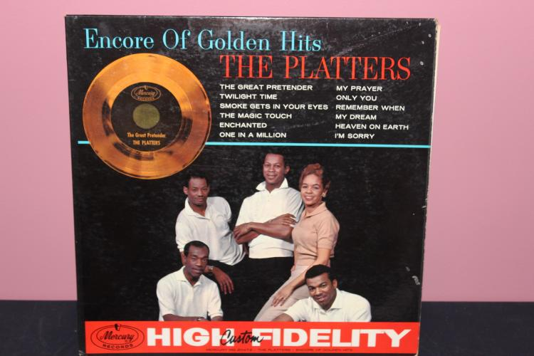 PLATTERS GOLD - MERCURY RECORDS MG20472 - VERY GOOD COND
