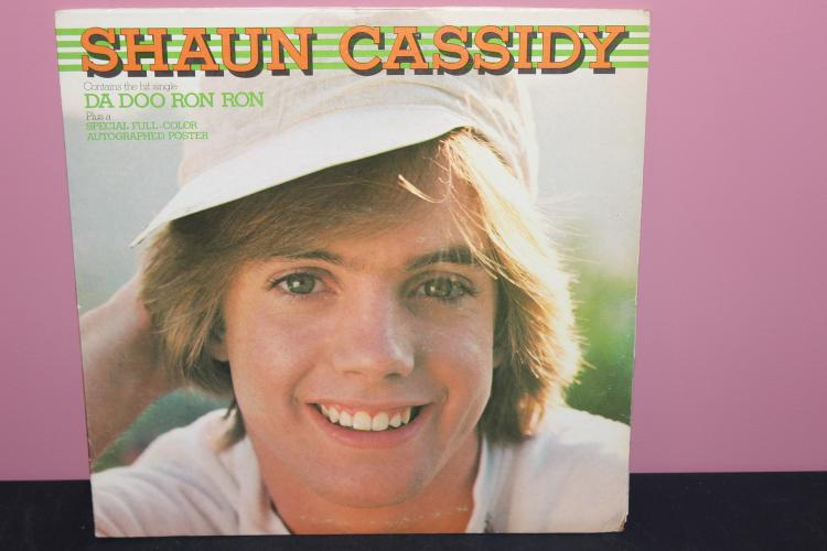 SHAUN CASSIDY 1977 WARNER BROS. BS3067 - VERY GOOD COND