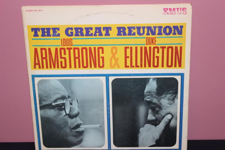 ARMSTRONG AND ELLINGTON - EMUS RECORDS 12014 - LIKE NEW