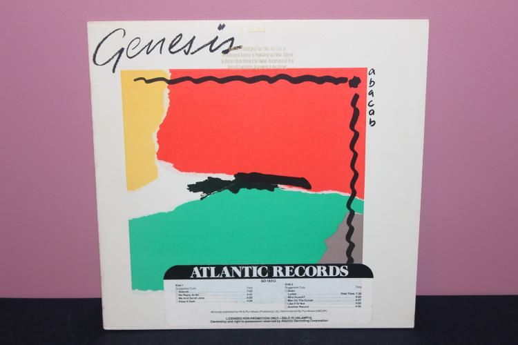 GENESIS NOT FOR SALE PROMOTIONAL ONLY - ATLANTIC RECORDS - LIKE NEW