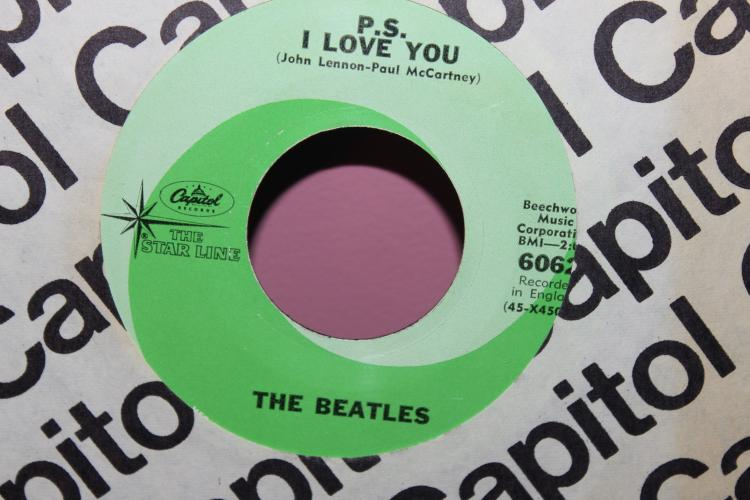 BEATLES CAPITAL RECORDS 6062 BEECHWOOD MUSIC CORP. RECORDED IN ENGLAND