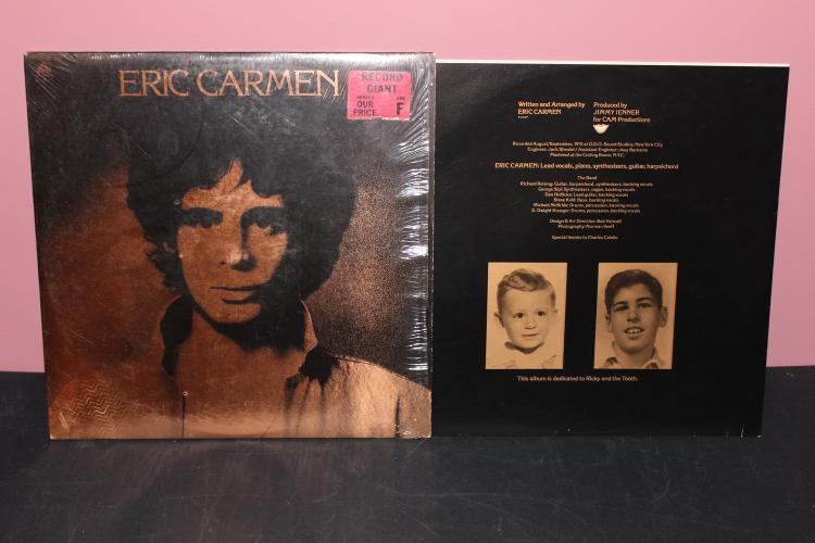 ERIC CARMEN 1975 ARISTA RECORDS ORIG. STORE WRAPPER NEAR MINT